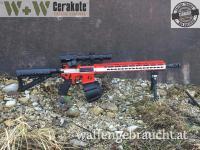 WW-CERACOATING AR 15 Österreich Edition H-167 UMSC Red,H-242 Hidden White