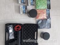 Walther PPQ M2 CO2-RAM Pistole Kal. 43 schwarz inkl. Zubehör