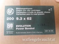 RWS Evo 9,3x62 Munition
