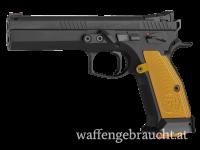CZ 75 Tactical Sports Orange 9x19 incl. 1000 Schuss Geco Whitebox 115gr