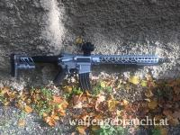 "AR 15 /PCC Cerakote mit Gun Candy ""CARBONITE"""