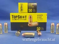 TopShot Competition .45 ACP Vollmantel 14,9g/230grs.