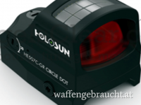 Holosun HE 507 C Elite – Abs. Grün – BLACK