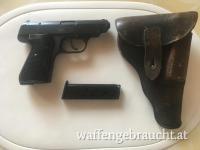 Pistole Sauer u. Sohn 38H  Kal. 7,65mm
