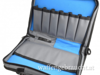 CED Elite Series Large Pistol Case grey/blue