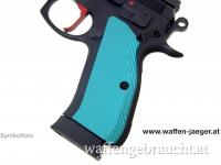 Griffschalen für CZ SP - 01 Türkis Long Version
